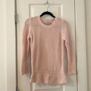 Blush pink LOFT sweater size m
